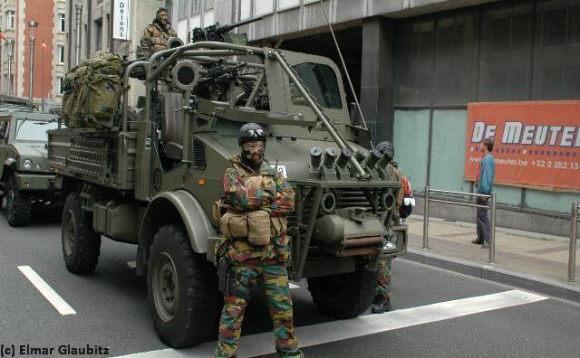 Long Range Patrol Vehicle Unimog Patsas Be