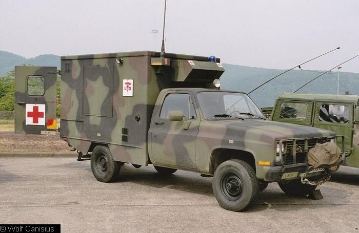 CUCV Chevrolet M1008 US